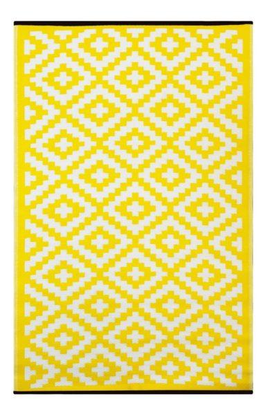 tappeto giallo