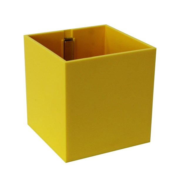 vaso giallo