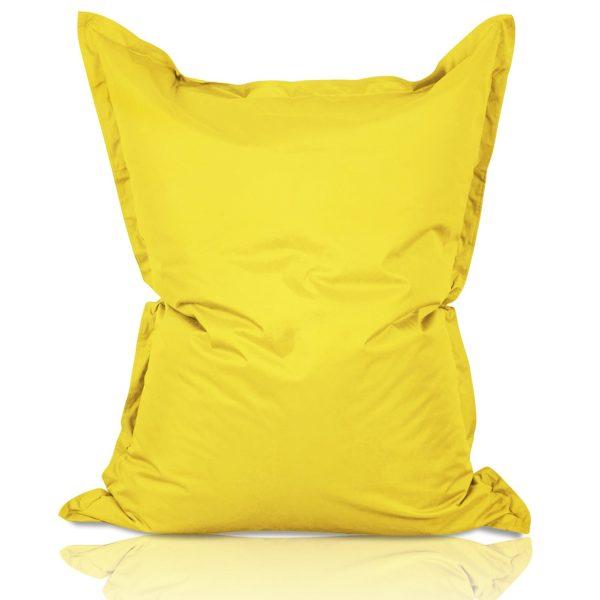 cuscino grande giallo