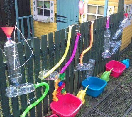 attività bambini in giardino