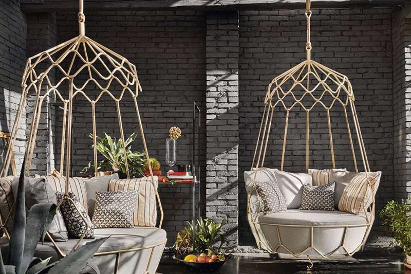 Dondolo da giardino comodo e di design | Accessori per esterno