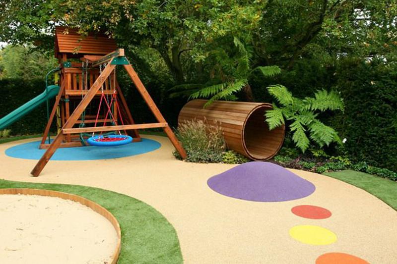 Come creare uno spazio per bambini in giardino accessori per esterno