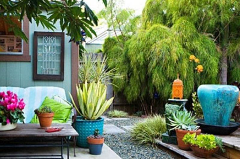 Come arredare il giardino in stile shabby chic accessori for Arredo giardino terrazzo