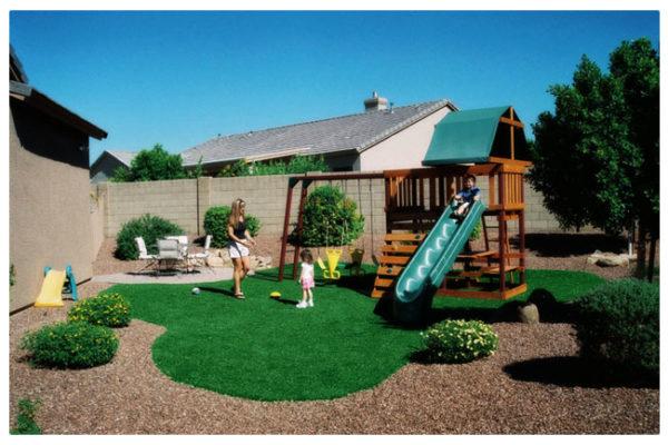 spazio giochi giardino