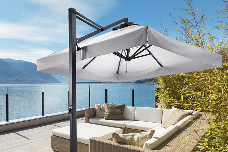 Ombrelloni da giardino e vele solari accessori per esterno for Arredi esterni dwg