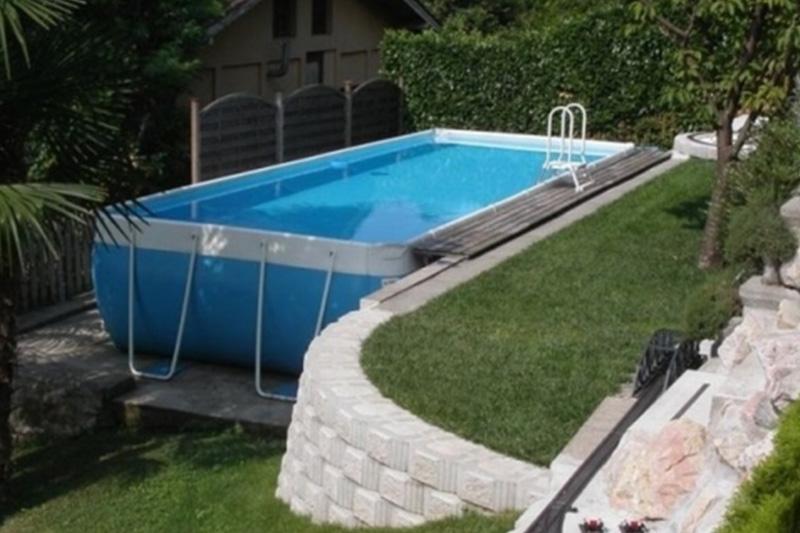le piscine fuori terra in legno accessori per esterno