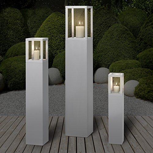 Set lanterne lampade porta candele da esterno miadomodo for Lanterne da interno