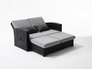 Divano letto da esterno in rattan accessori per esterno - Letto da esterno ...