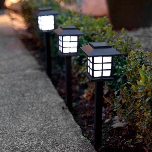 Set 6 luci da giardino a lanterna ad energia solare  Accessori per esterno
