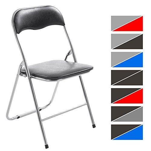 Clp sedia pieghevole felix sedia chiudibile con telaio in - Sedia pieghevole imbottita ...