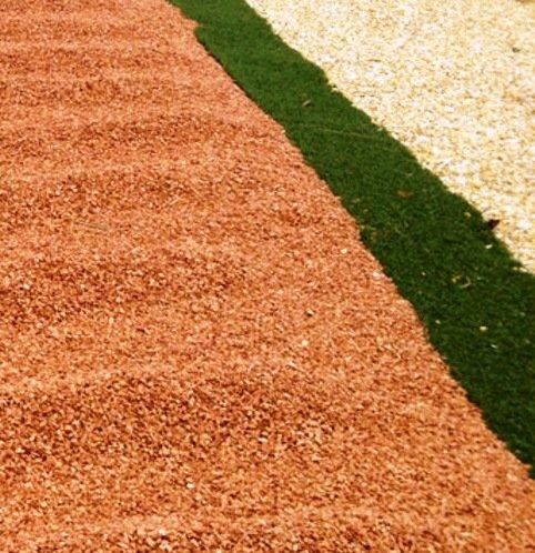 Graniglia di marmo rosso verona 8 12mm 12 sacchi da 25 - Sacchi di terra per giardino ...