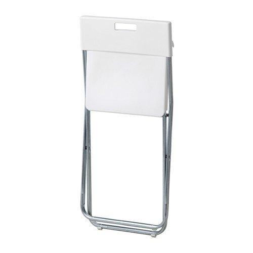 Ikea gunde sedia pieghevole colore bianco accessori for Sedia pieghevole ikea