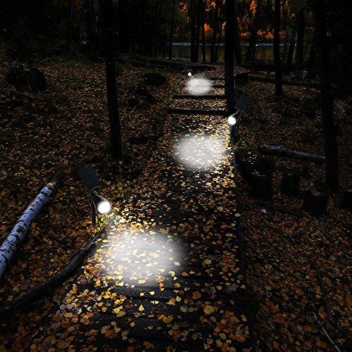 Lampioni da Giardino led Energia Solare GrandBeing Illuminazione Giardino Luci Solari da Esterno ...