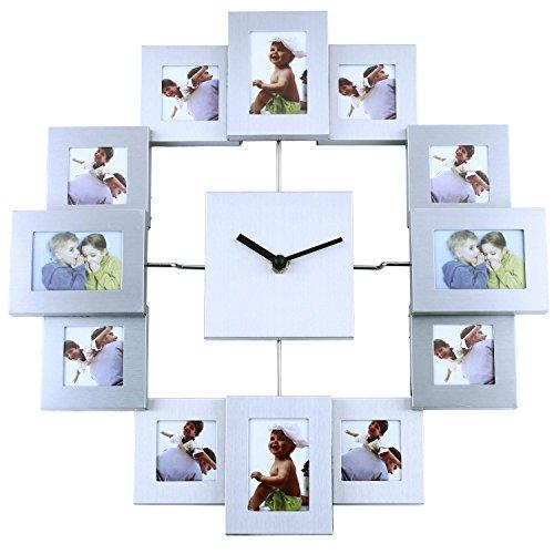 Soled orologio da parete design cornici foto portafoto - Cornici foto design ...