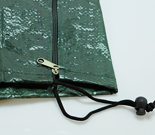 Telo di copertura per mobili da giardino impermeabile colore verde per parasole verde - Coperture per mobili da giardino ...