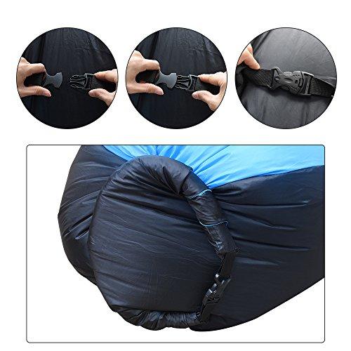 Divano gonfiabile portatile impermeabile durevole leggero - Divano gonfiabile aria ...