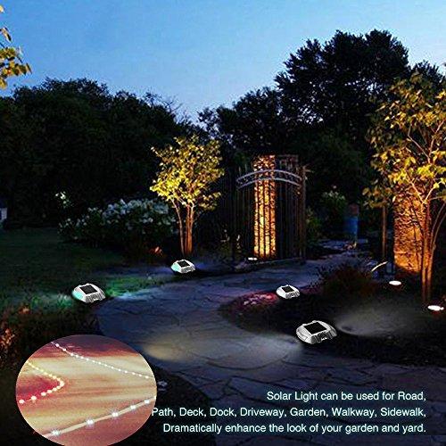 luci solari da esterno,SOLMORE Lampada Solare luci da esterno decorazioni per il giardino solari ...
